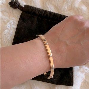 Michael Kors rose gold plated bangle